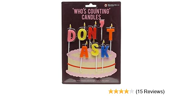 Amazon NPW Whos Counting Candles