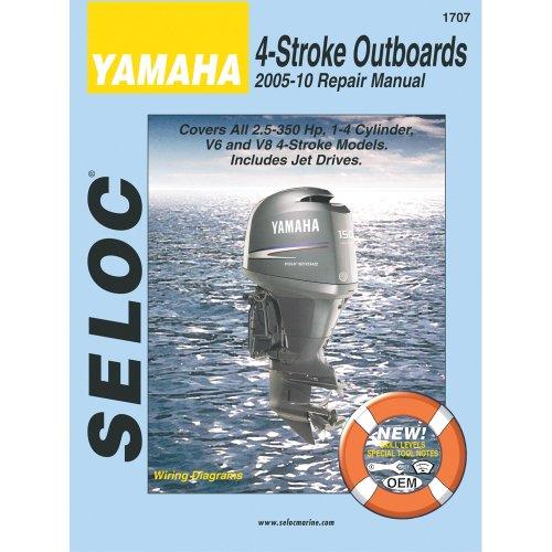 Seloc Service Manual Yamaha All 4-Stroke Engines 2005-2010