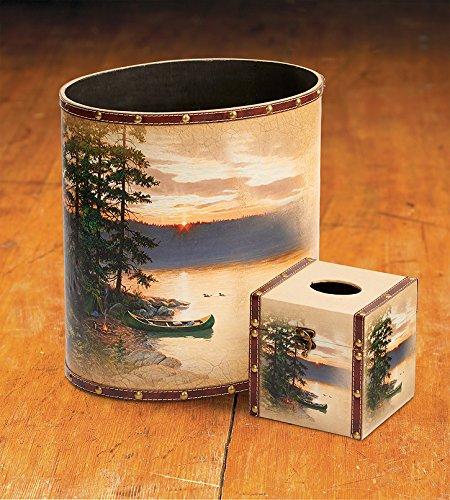 Sunrise Bath Tissue - Summer Sunrise Wastebasket & Tissue Set by Persis Clayton Weirs