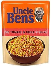 UNCLE BEN'S Express 2 min micro-ondable Riz Tomate et Huile d'Olive 250 g