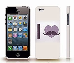 """iStar Cases? iPhone 4 Case with """"Honey badger don't care"""" Funny, Grey Grunge Font on Textured, Honey Badger Design , Snap-on Cover, Hard Carrying Case (White)"""