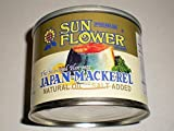 Japanese Mackerel Pike in Natural Oil 190 grams by Sun Flower Japan