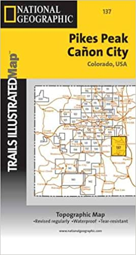Pikes Peak /Canon City: 1:66670 Trails Illustrated - Topo Maps USA on