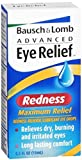 Bausch & Lomb Advanced Eye Relief Redness Maximum Relief Drops - 2 pk.