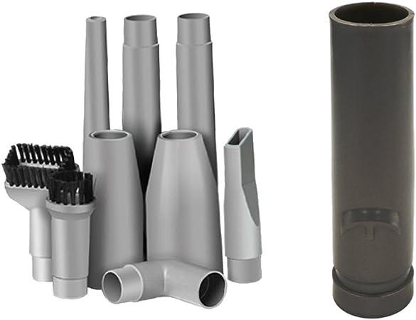 Gazechimp 9pcs / Set Herramientas Boquilla Aspiradora Colector de Polvo+ Adaptador de Tubo de Vacío Conector de Manguera Universal para Aspiradores: Amazon.es: Hogar