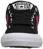 Converse Girls El Distrito Sneaker, Black, 12 M US