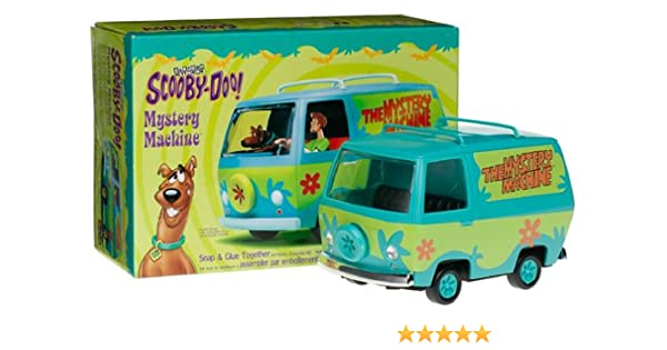 Shaggy figures Polar Lights MYSTERY MACHINE 1:25 Scale Snap-Fit w// Scooby-Doo