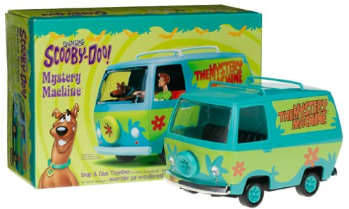 Scooby-Doo Mystery Machine Snap & Glue Together Plastic Model Kit  1:25 Scale