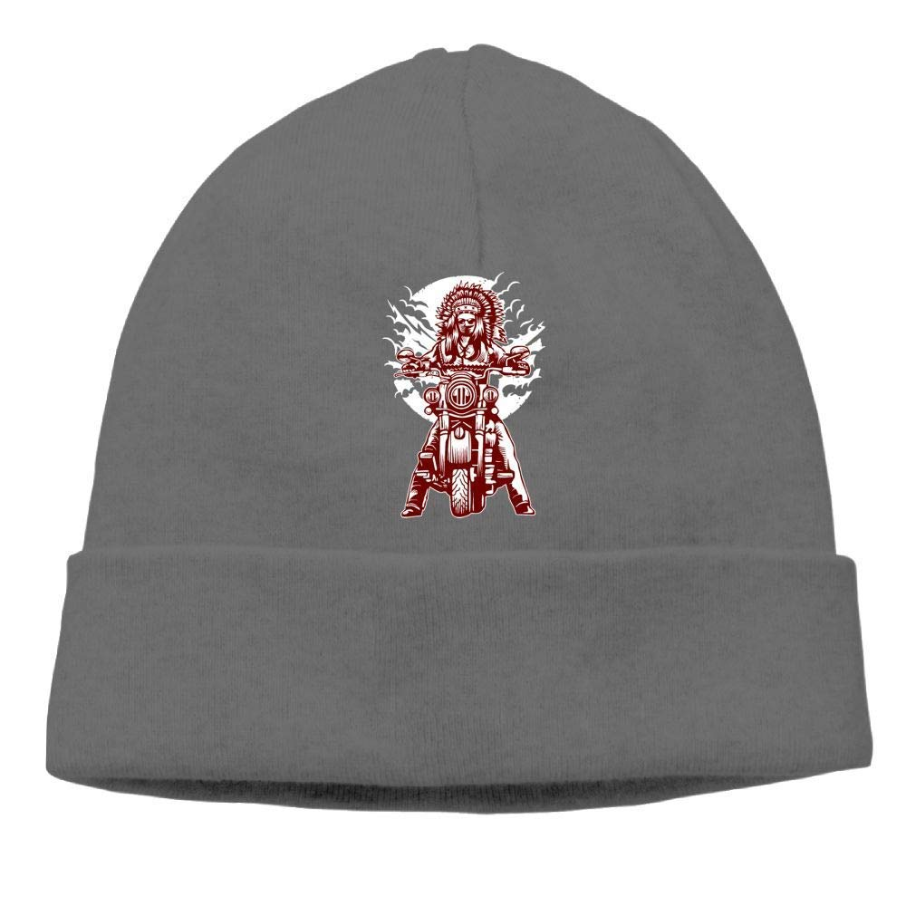 1a3225abc9a Amazon.com  Indian Motorcycle Beanies Hat Winter Skull Knit Cap  Man Slouchy  Clothing