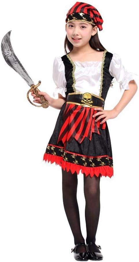 KIDSCOSPLAY Childen Traje Halloween Pirata Niñas Falda ...