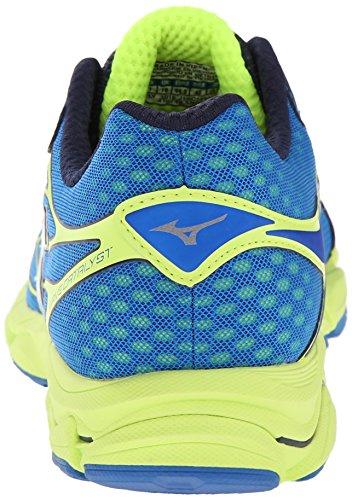 Mizuno Hombres Wave Catalyst Running Shoe Directories Azul / Blanco