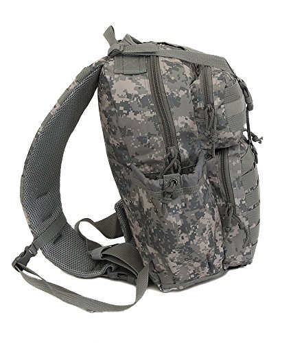 Mens Tactical Gear Molle Hydration Ready Sling Shoulder