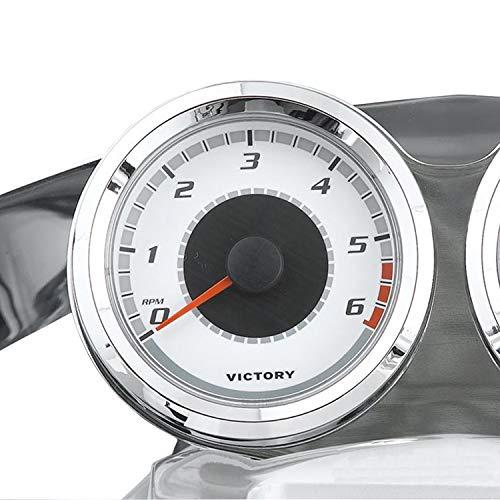 (Victory New OEM Motorcycle Chrome Tachometer Gauge Kit, Cross Roads, 2877652)
