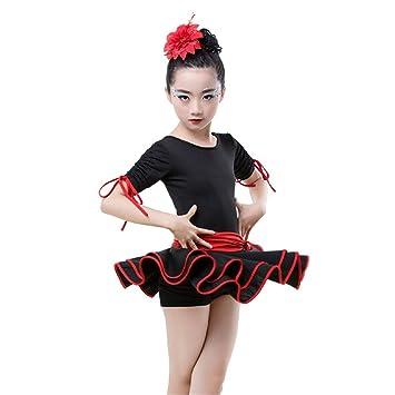 Ballet de vestir de leotardo para niñas Vestido de traje de ...