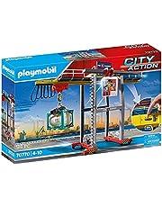 PLAYMOBIL City Action Cargo Portaalkraan met containers - 70770
