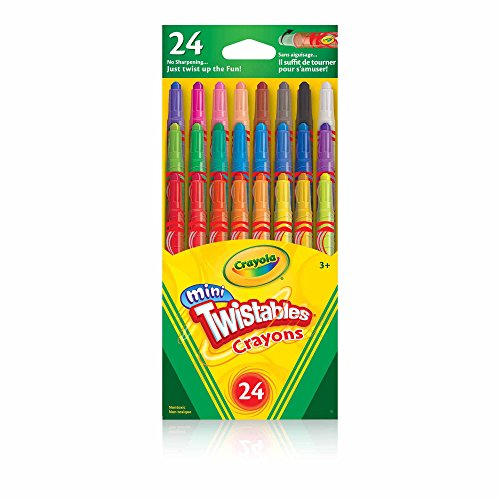 Crayola Mini Twistables Crayons, Pack of (Twistables Crayons)