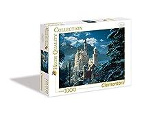 Neuschwanstein Castle Winter Jigsaw Puzzle 1000pc