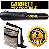Garrett Pro Pointer II Two Metal Detector Pinpointer with Holster and Garrett Camo Digger's Pouch
