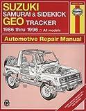 Haynes Suzuki Samurai and Geo Tracker, 1986-95, Haynes Publications Staff, 1563921499