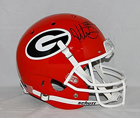 Todd Gurley Autographed Georgia Bulldogs Full Size Red Helmet- JSA W Authenticated - Schutt Georgia Bulldogs Replica Helmet