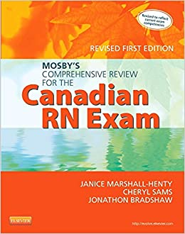mosbys comprehensive review for the canadian rn exam
