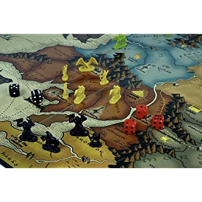 Risk Lord Of The Rings by Winning Moves: Toys & Games
