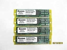 64MB Gold SIMM MEMORY RAM KIT for Kurzweil K2500 K2000 K2vx 4x16MB