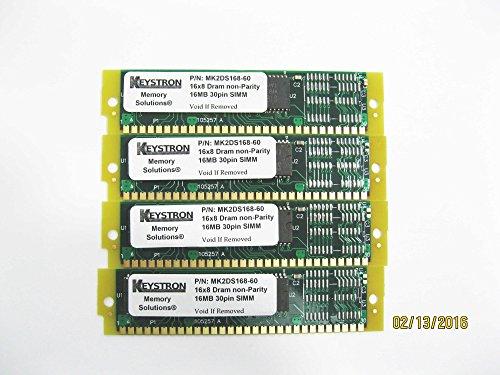4x 16MB 64MB 30pin SIMMs RAM MEMORY 60ns for Apple