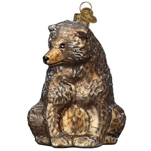 Old World Christmas Vintage Bear