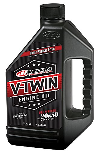 Maxima Racing Oils 30-11901 20w50 V-Twin Full Synthetic Engine Oil - 32 fl. oz. (Maxima Cool)