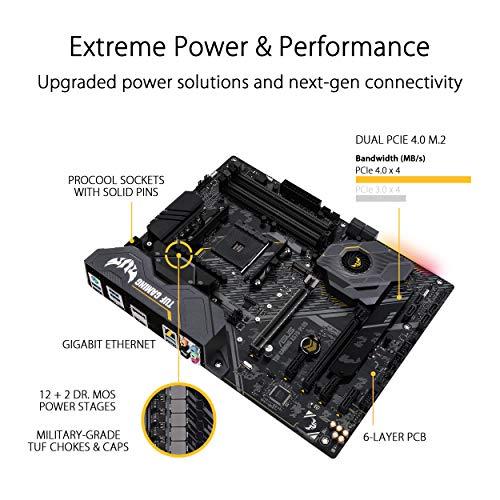 Asus TUF GAMING X570-PLUS ATX AM4 Motherboard