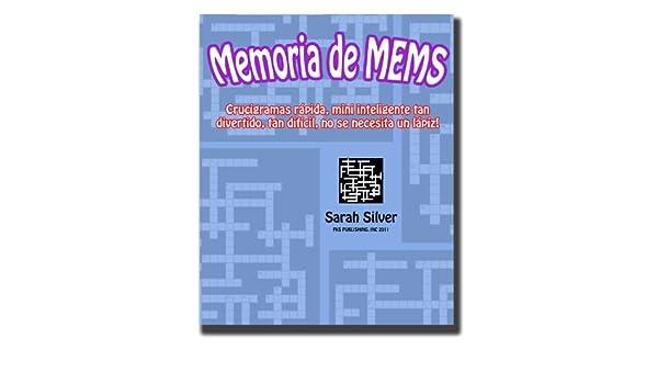 Memoria de MEMS; Crucigramas rápida, mini inteligente tan ...