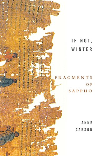 Image of If Not, Winter: Fragments of Sappho