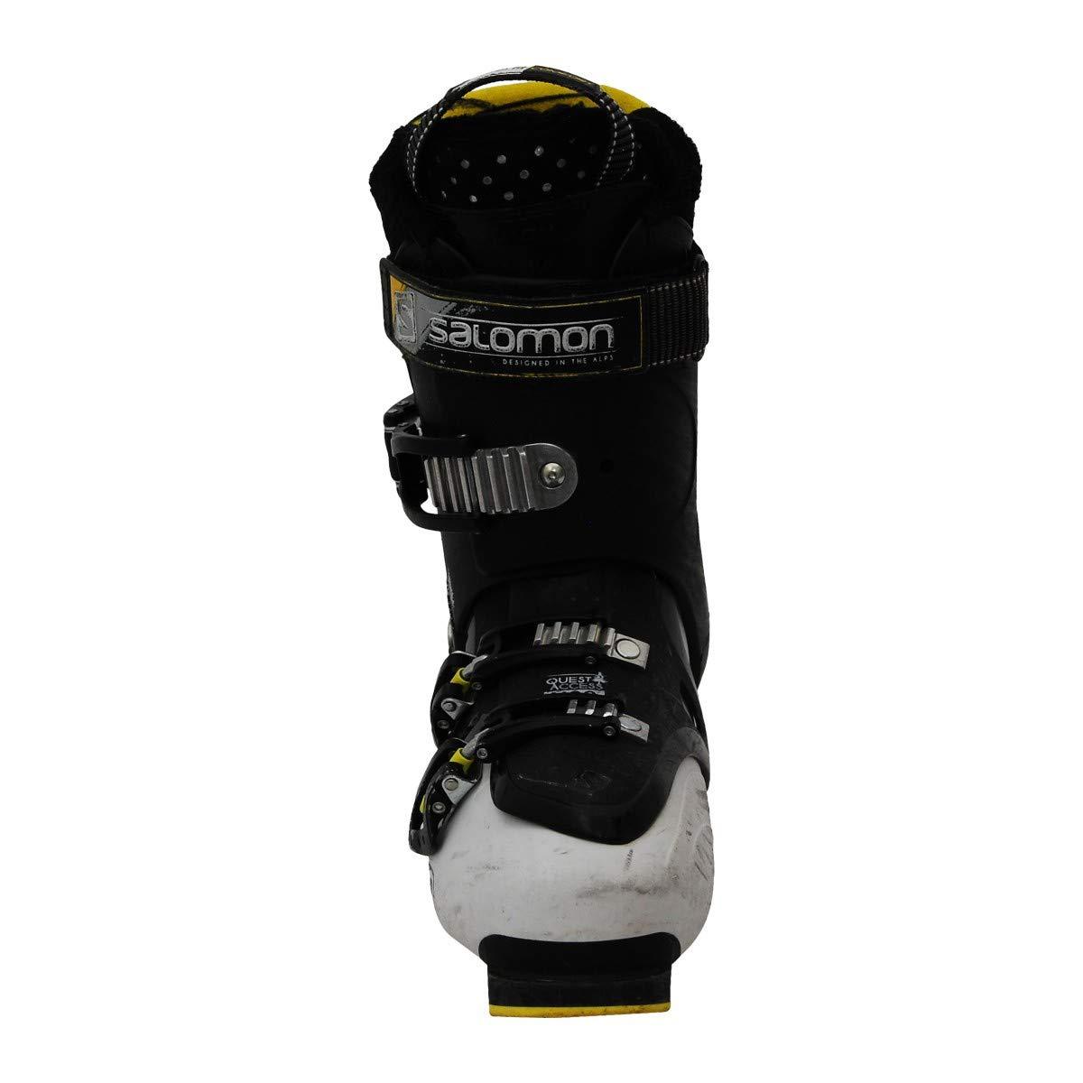 SALOMON Gebrauchte Skischuhe Quest Access X80 schwarz weiß u9T9n