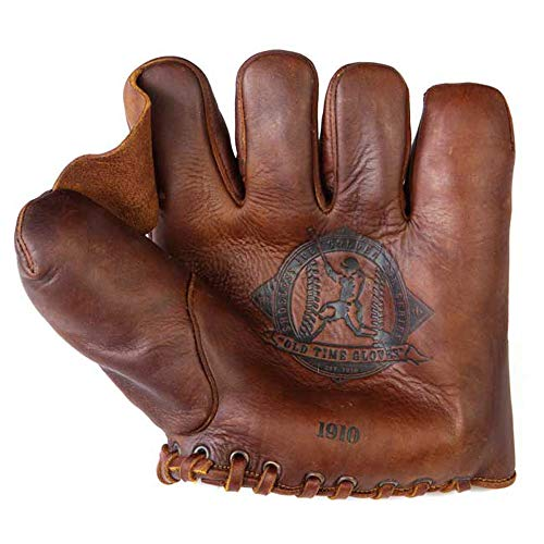 Shoeless Joe Gloves 1910 Fielders Glove, Brown, Right ()