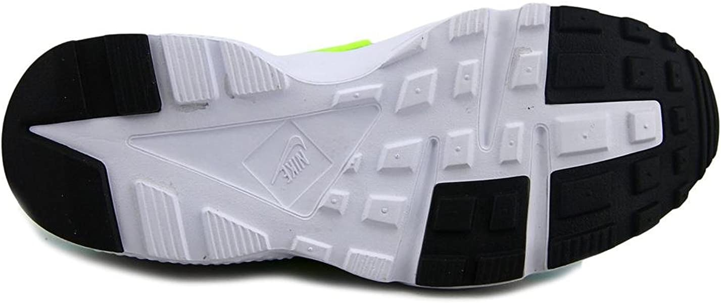 428a61889ed1 Nike Huarache Run Running Shoes White Volt Hyper Turq Jade 654280 106 Sz.  Back. Double-tap to zoom