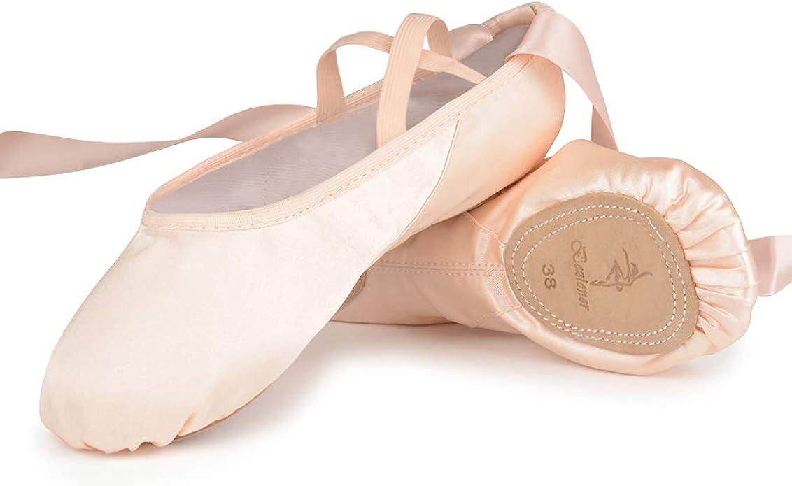 Erwachsene Kinder Ballett Tanzschuhe Gymnastik Fitness Yoga Übung Hausschuhe
