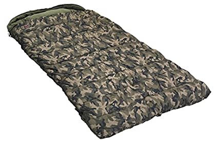 Zfish Sleeping Bag hoogan Camo 5 Season Saco de Dormir, Verde/Marrón/Negro