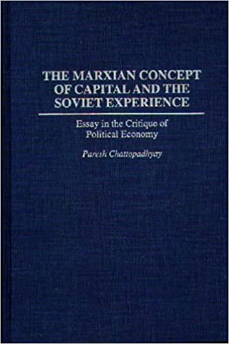 The Marxian Concept Of Capital And The Soviet Experience Essay In  The Marxian Concept Of Capital And The Soviet Experience Essay In The  Critique Of Political Economy Praeger Series In Political Economy Paresh   Apa Format Sample Paper Essay also Research Essay Proposal  Proposal Essay Sample