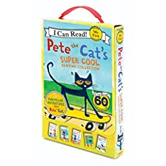 Learning to read has never been so groovy! From New York Times bestselling artist and author James Dean, Pete the Cat is sure to make reading fun for early readers.        With five super-cool stories in one box for reading on the go, ...