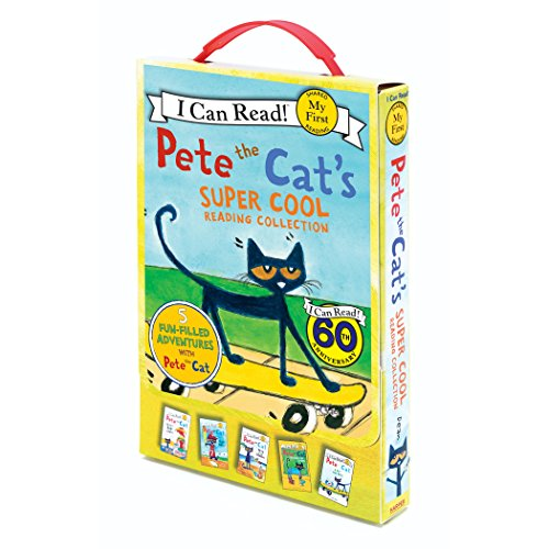 Pete the Cat's Super Cool Reading Collection (My First I Can -