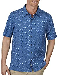 Men's Neat Traditional Fit Print Shirt