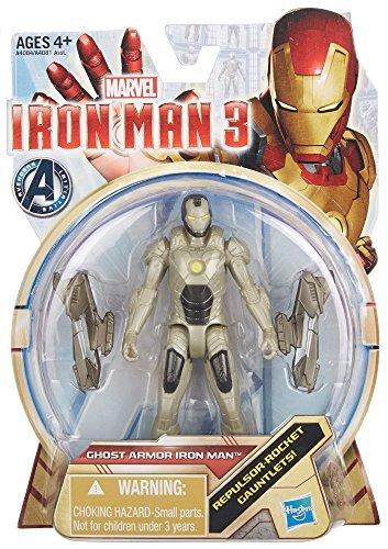 Hasbro Iron Man 3 Series 1 Ghost Armor Iron Man Action Figure