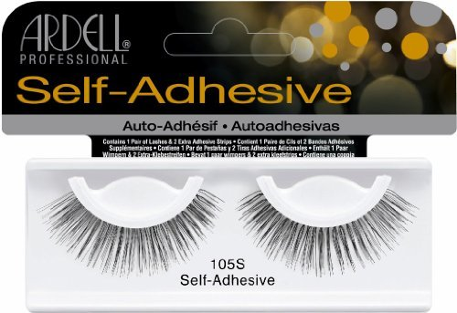 Ardell Self-Adhesive Lashes - #105S (Pack of 6) by Ardell