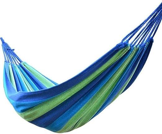 DX Silla de Hamaca para niños, Hamaca de Viaje al Aire Libre Jardín Hamaca de jardín Silla Colgante Silla Mecedora Silla con 2 Cuerdas (Azul): Amazon.es: Hogar