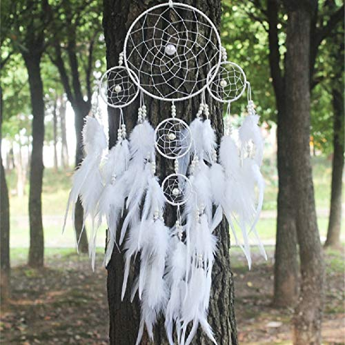te Dream Catcher Hanging Decorations for Car - Room Wall Home Wind Chimes Dreamcathers Ornament ()