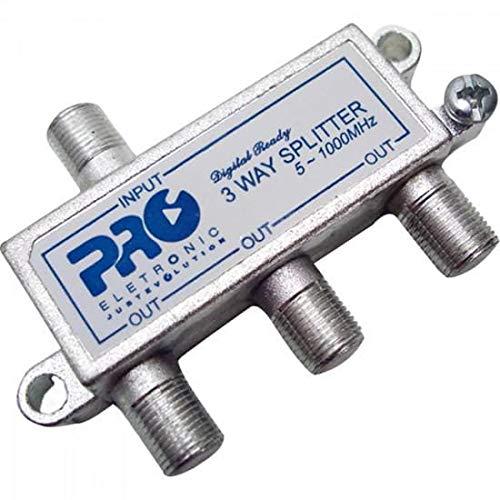 Divisor Antena VHF/UHF/CATV 1/3, Proeletronic, PQDV-1023