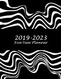 """2019-2023 Five Year Planner: Classic Art Black Color, 8.5"""" x 11"""" Five Year 2019-2023 Calendar Planner, Monthly Calendar Schedule Organizer (60 Months Calendar Planner)"""