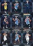 2017-18 Panini Prizm Basketball Denver Nuggets Veteran Team Set of 9 Cards in a 4-Pocket Display Album: Emmanuel Mudiay(#161), Wilson Chandler(#162), Paul Millsap(#163), Trey Lyles(#164), Gary Harris(#165), Nikola Jokic(#166), plus more
