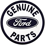 Genuine Ford Parts Round Tin Sign